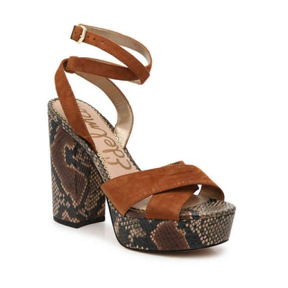 c0a2e5bbb1a8 Sam Edelman mara platform sandal